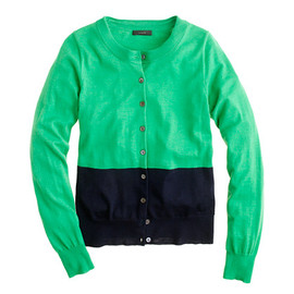J.CREW - Tippi cardigan in colorblock