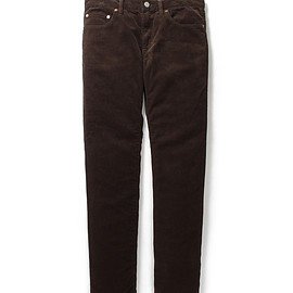 WACKO MARIA - REGULAR STRAIGHT CORDUROY PANTS