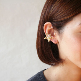 patterie - AURORA STAR EAR CUFF