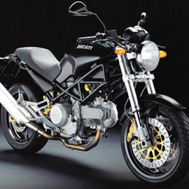 Ducati - monster 400 BLACK