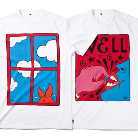 ROCKWELL BY PARRA - WHITE T-SHIRT