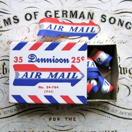 Dennison - Air Mail Labels