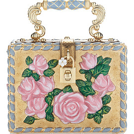 DOLCE&GABBANA - FW2016 Flower Motif Box Bag