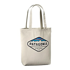 Patagonia - Canvas Bag - Fitz Roy Crest: Bleached Stone FYCS