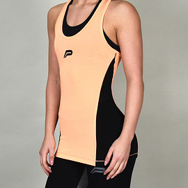 Pursue Fitness - Iconic Slub Vest - Orange