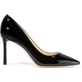 Jimmy Choo - Romy patent-leather pumps