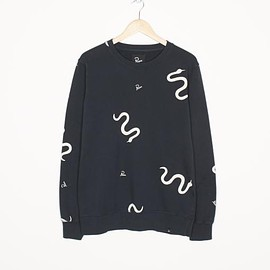 by Parra - crew neck snakes & logo's
