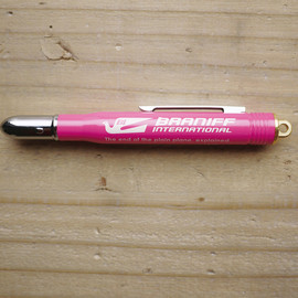 BRANIFF, TRAVELER'S FACTORY - BRASS BALLPOINT PEN