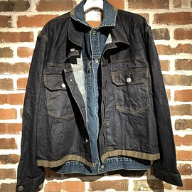 sacai - Denim Layered Jacket