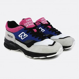 NEW BALANCE - M15009 D LEATHER/TEXTILE/SY SC BLUE/PINK