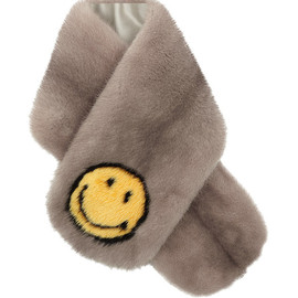 ANYA HINDMARCH - SS2015 Smiley Mink Stole