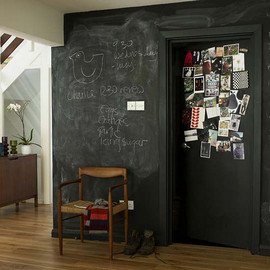 Living Etc. - chalkboard wall