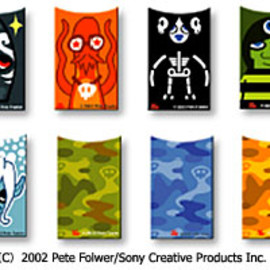 "Sony Ericsson - Pete Fowler ""The Kingdom of Monsterism"" (A1101S custom panel)"