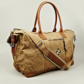 EASTPAK, WOOD WOOD - Mundo Weekend Bag