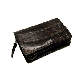 CHRISTIAN PEAU - crocodile leather wallet