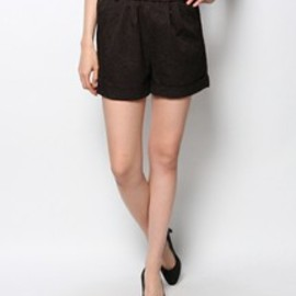 ROSE BUD - ELASTIC SHORT PANTS