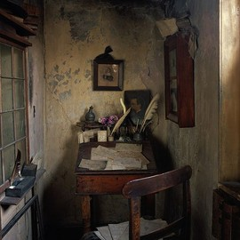 dennis severs house / writing nook