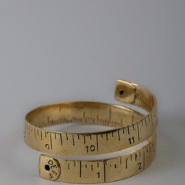 Measuring tape ring