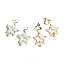 patterie - AURORA STAR PIERCE/EARRING