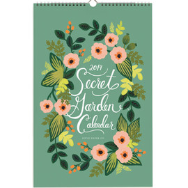Rifle Paper Co. - 2014 Secret Garden Calendar