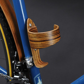 Wood Bottle Cage