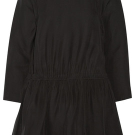 CARVEN - Silk-blend cady mini dress