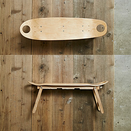 Alexander Lee Chang + Peregrine Funiture - cruiser wing table