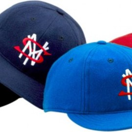 Back Hit Ebbets Fitted Cap