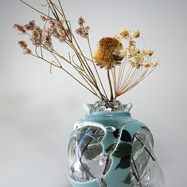 studio note - glassmic vase