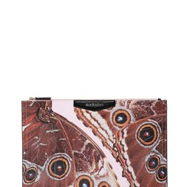 GIVENCHY - LARGE BUTTERFLY COATED CANVAS POUCH