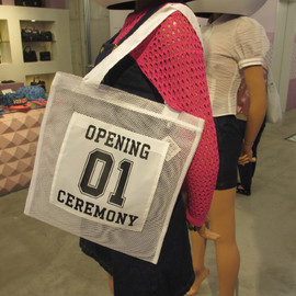OPENING CEREMONY - mesh tote bag