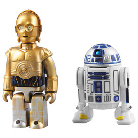 MEDICOM TOY - STAR WARS™ KUBRICK C-3PO™ & R2-D2™ 2pc set