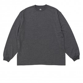 Graphpaper - Wool L/S Oversized Tee