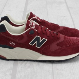 new balance - 999NV Maroon