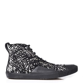 BALENCIAGA - The Young scribble-print trainers