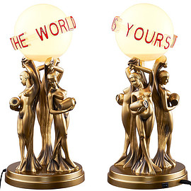 Supreme, Scarface - The World Is Yours Desk Lamp