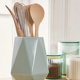 Slide View: 1: Faceted Utensil Holder