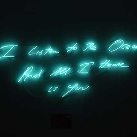 "Tracey Emin - ""I promise to love you"""