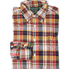 Gitman Brothers Vintage - Cotton madras shirt
