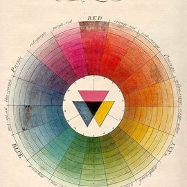 Antique color chart. - via d*s