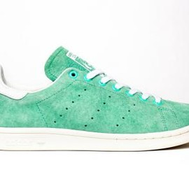 adidas originals - ADIDAS ORIGINALS STAN SMITH SUEDE GREEN