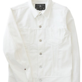 bal - Denim Trucker Jacket (white)