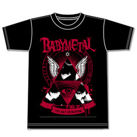 BABYMETAL - 「BABYMETAL DEATH MATCH TOUR 2013 -五月革命-」記念Tシャツ