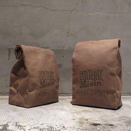 STUSSY Livin' GENERAL STORE - Medium Brown Bag