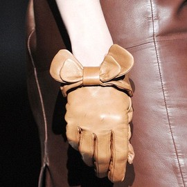 ERMANNO SCERVINO - bow gloves