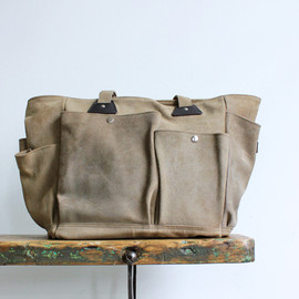 hobo - Oiled Suede Gardening Tool Bag