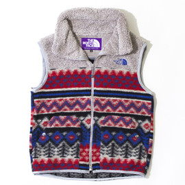 THE NORTH FACE PURPLE LABEL - Mountain Fleece Vest
