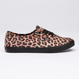 VANS - Leopard Print Authentic Lo Pro