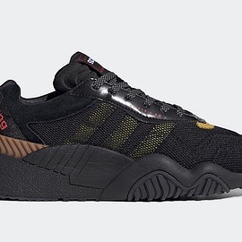 adidas - AW Turnout Trainer - Core Black/Yellow/Light Brown
