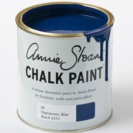 Annie Sloan - Chalk Paint - NapoleonicBlue - latest colour